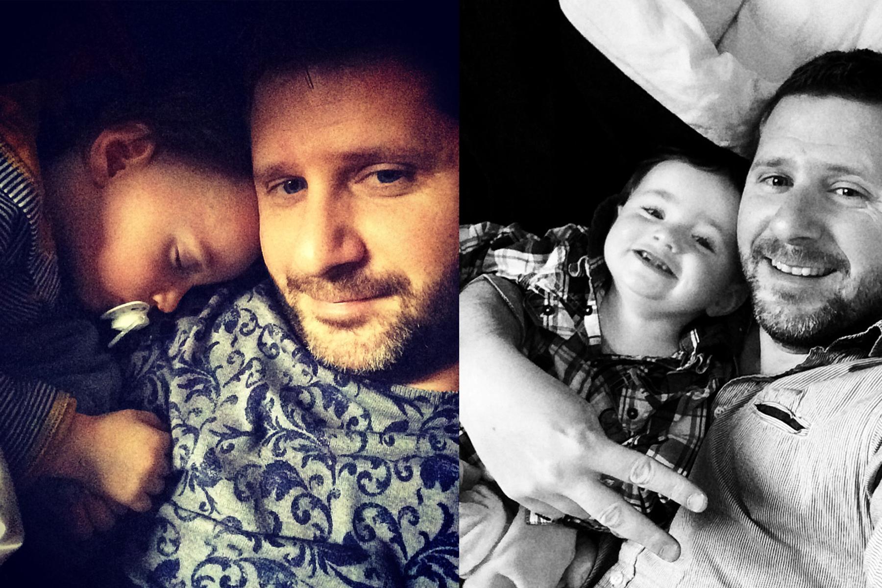 Accueil du site de David Pommier avec son fils. Photographe de mariage à Lyon, Clermont Ferrand, Moulins et Nevers. Se déplace partout en France