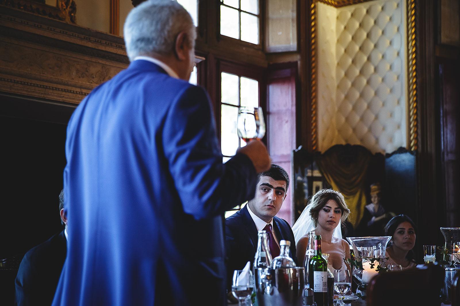 Mariage au Château de Beguin David Pommier photographe de mariage. Discours