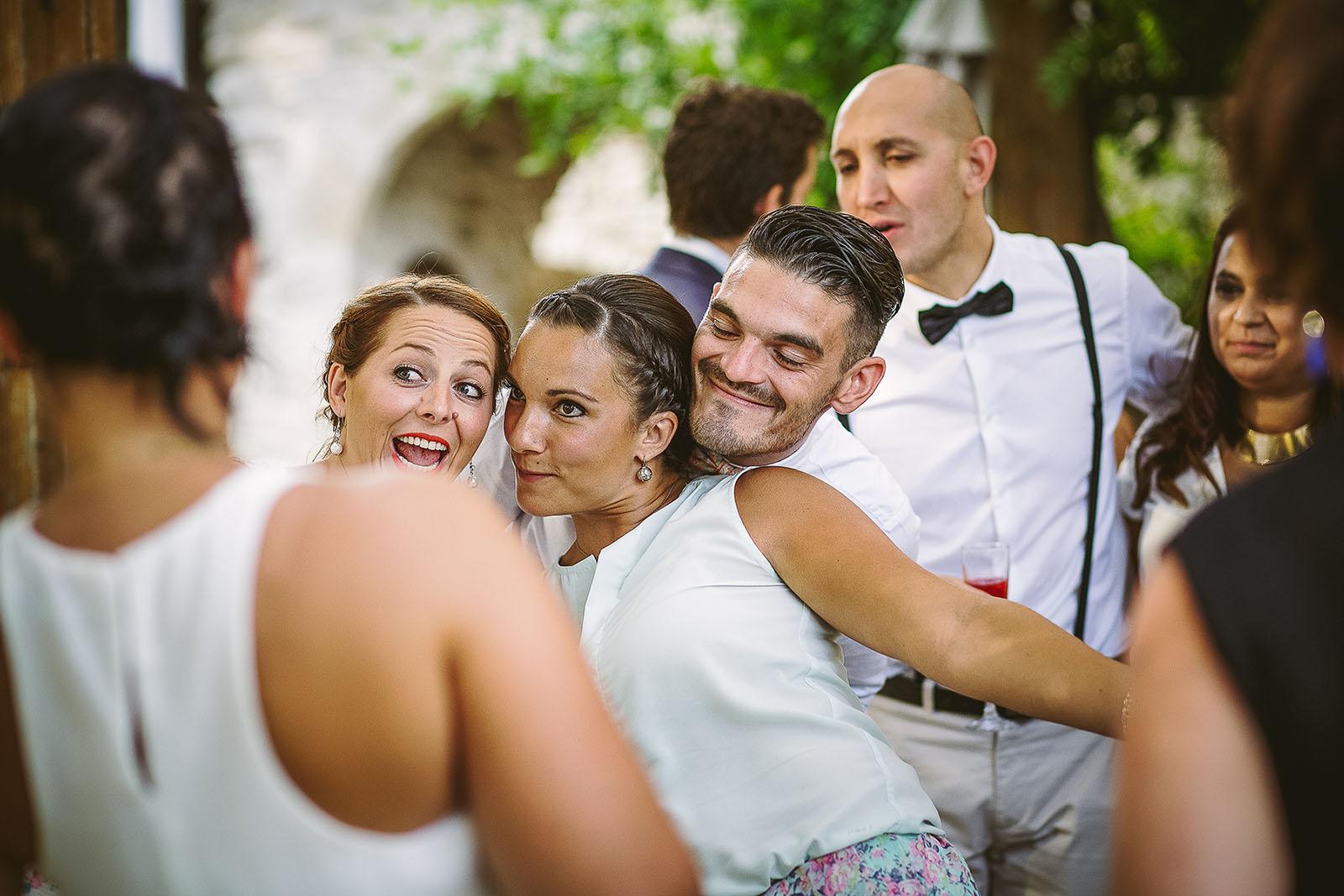 Mariage au Comptoir Saint Hilaire le vin d'honneur