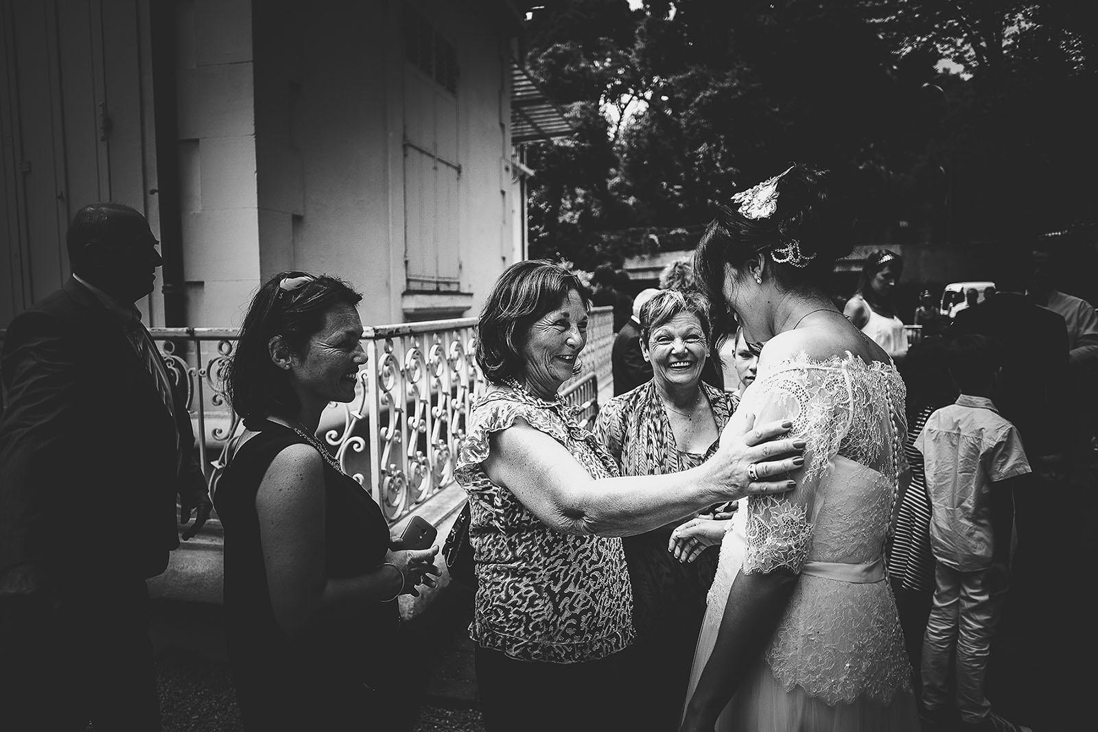 Mariage Villa Quélude David Pommier photographe de mariage. La joie au mariage