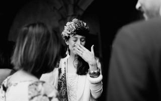 Quand l'émotion est trop forte Photographe de mariage à Clermont Ferrand