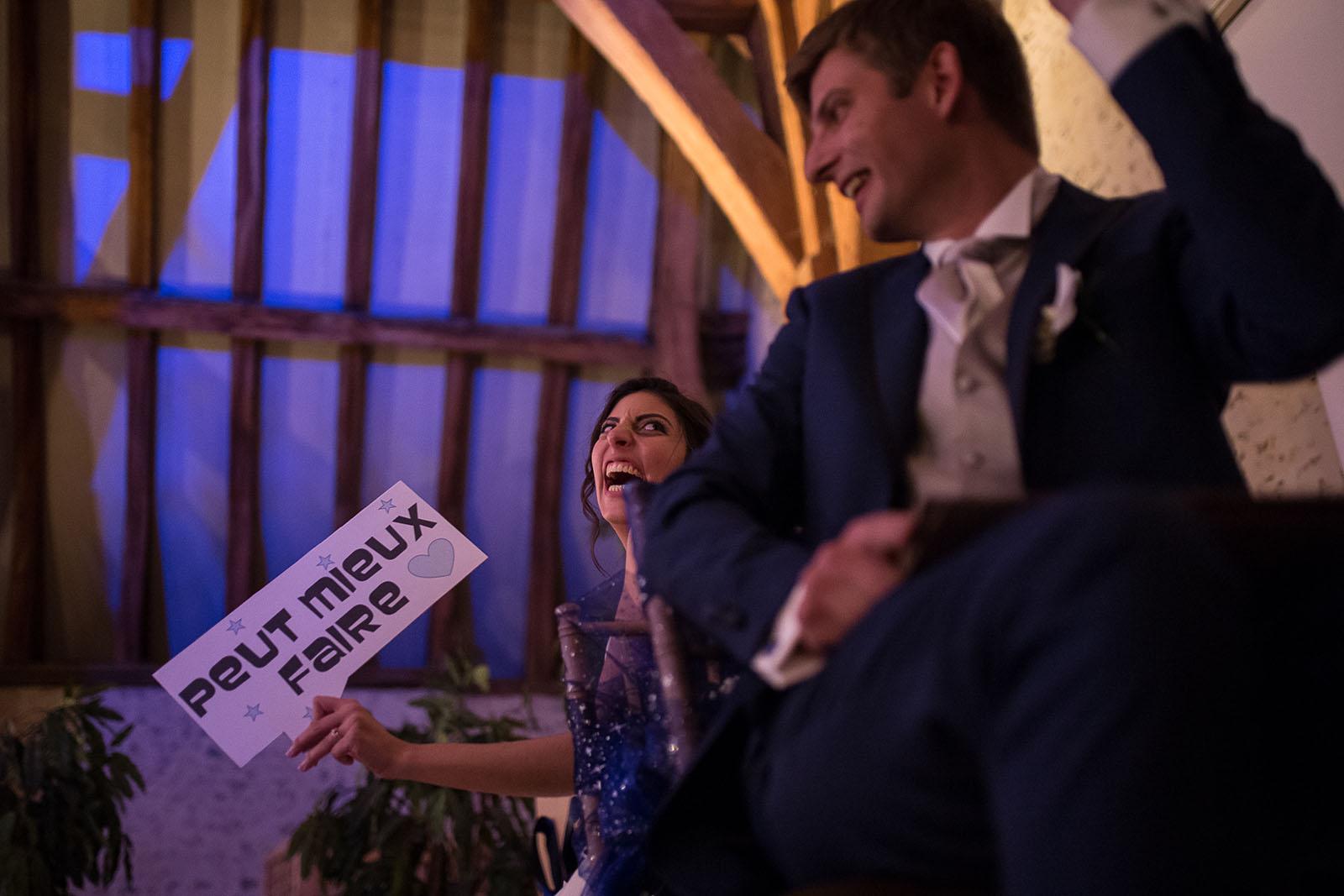 Mariage au Manoir de Corny en Normandie. Animation de la soirée le Il / elle