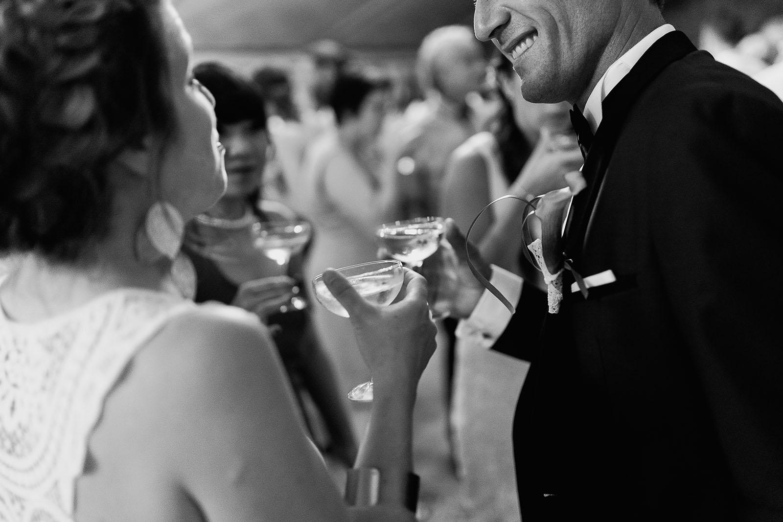 Mariage au château de Bisseret depuis saint Barthélémy champagne