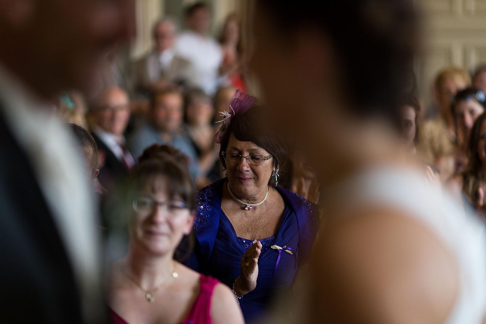 Mariage au château de Bisseret depuis saint Barthélémy emotion maman