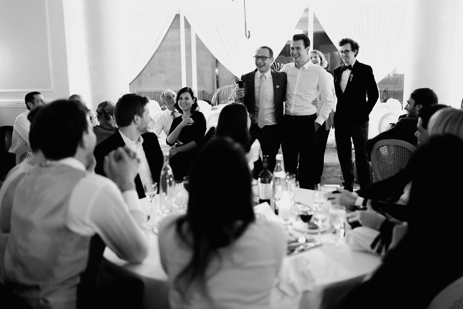Hotel Royal Saint Mart Royat Clermont Ferrand Le discours des témoins du mariage