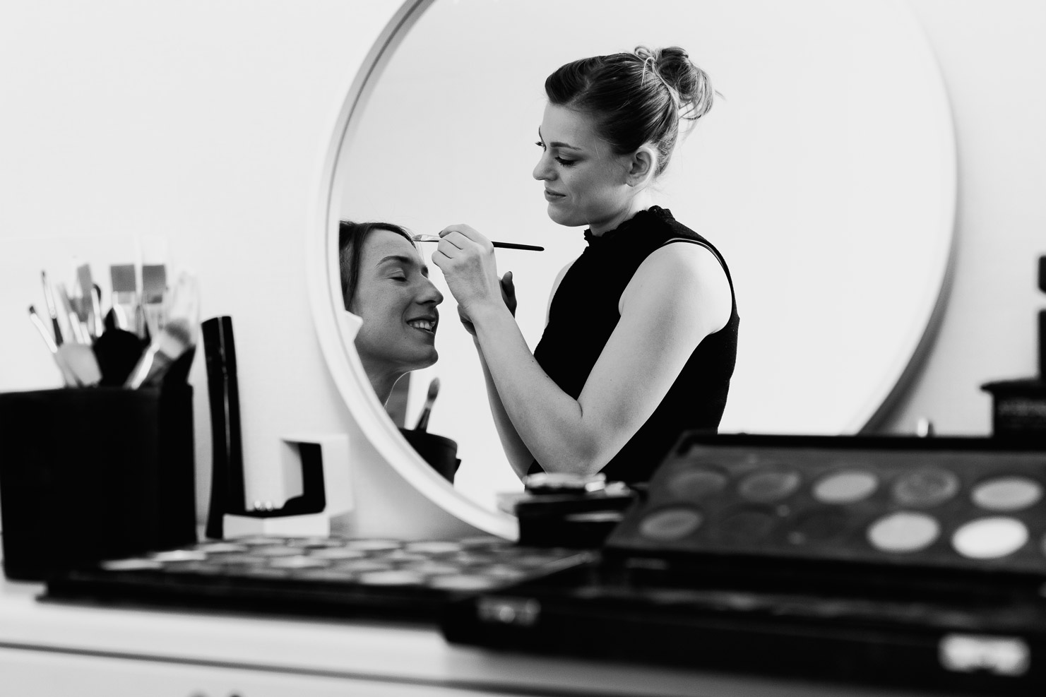 Hotel Royal Saint Mart Royat Clermont Ferrand Maquillage de la mariée, très belle photo