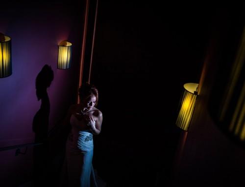 Une photo de la mariée