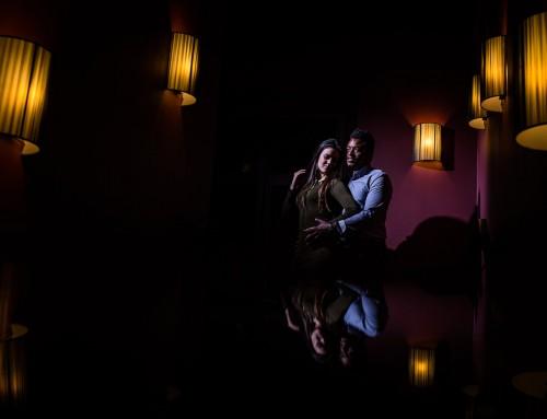 Une belle séance photo de couple