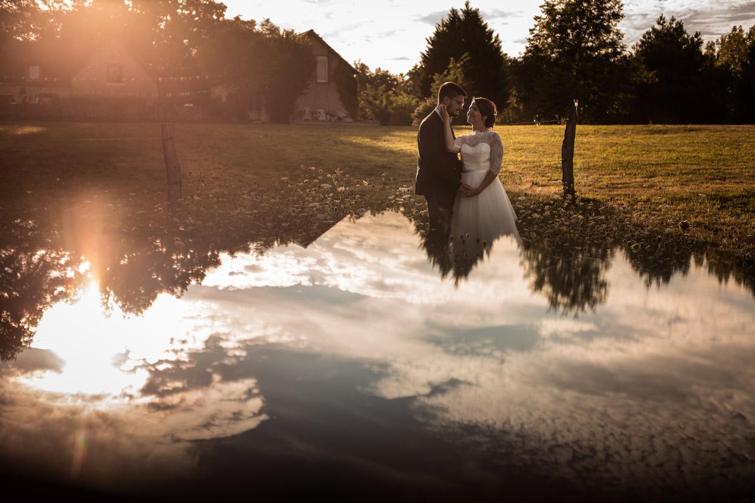 Photographe de mariage à Moulins - Un joli mariage dans un gîte à Diou
