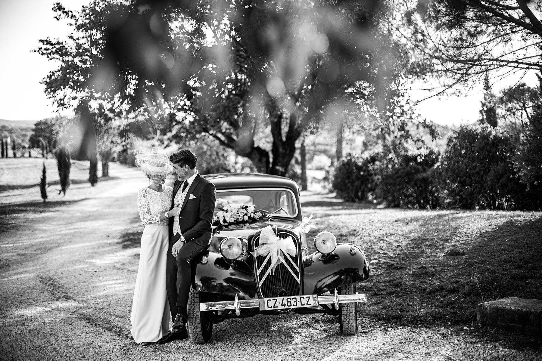 Reportage de mariage au soleil