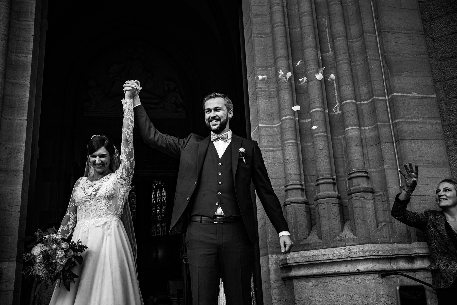 Reportage de mariage au Manoir de la Garde à Jarnioux