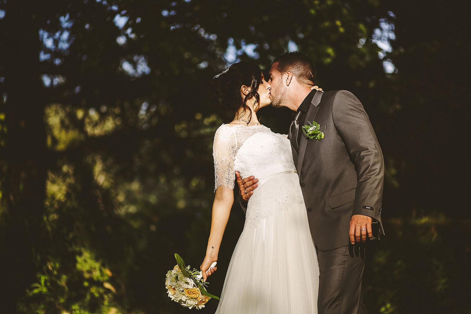 Mariage Villa Quélude David Pommier photographe de mariage. Photo de couple