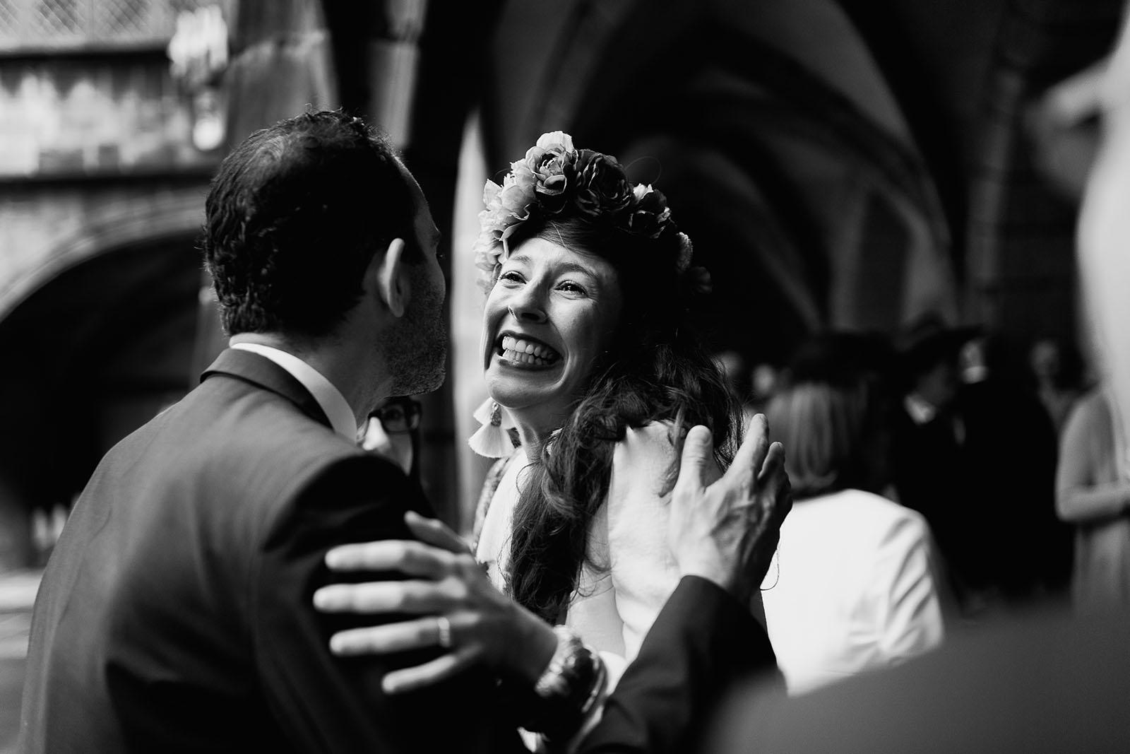 Photographe de mariage à Clermont Ferrand Emotion de la mariée
