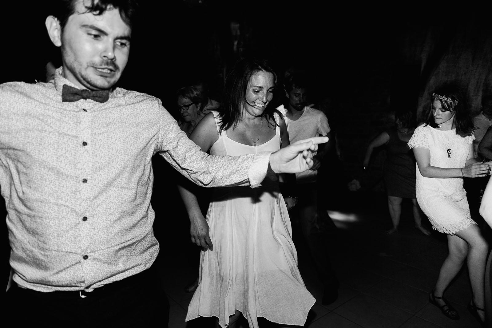 Mariage au château de Bisseret depuis saint Barthélémy dance floor