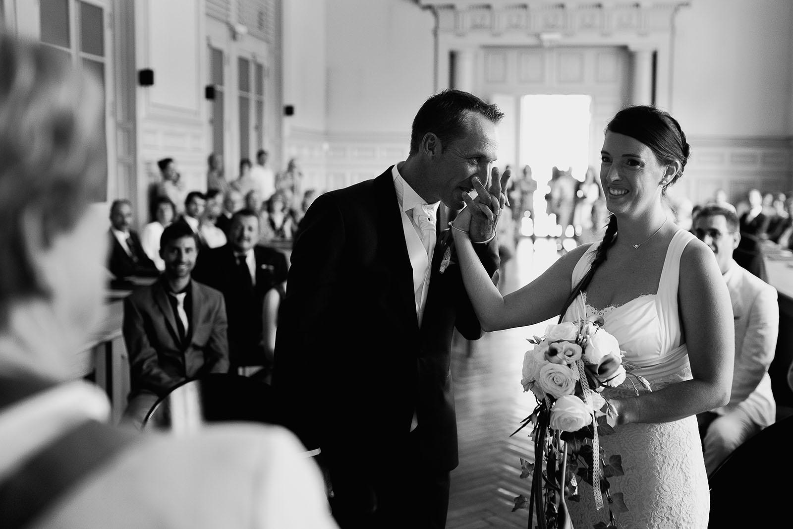 Mariage au château de Bisseret depuis saint Barthélémy mairie montluçon allier