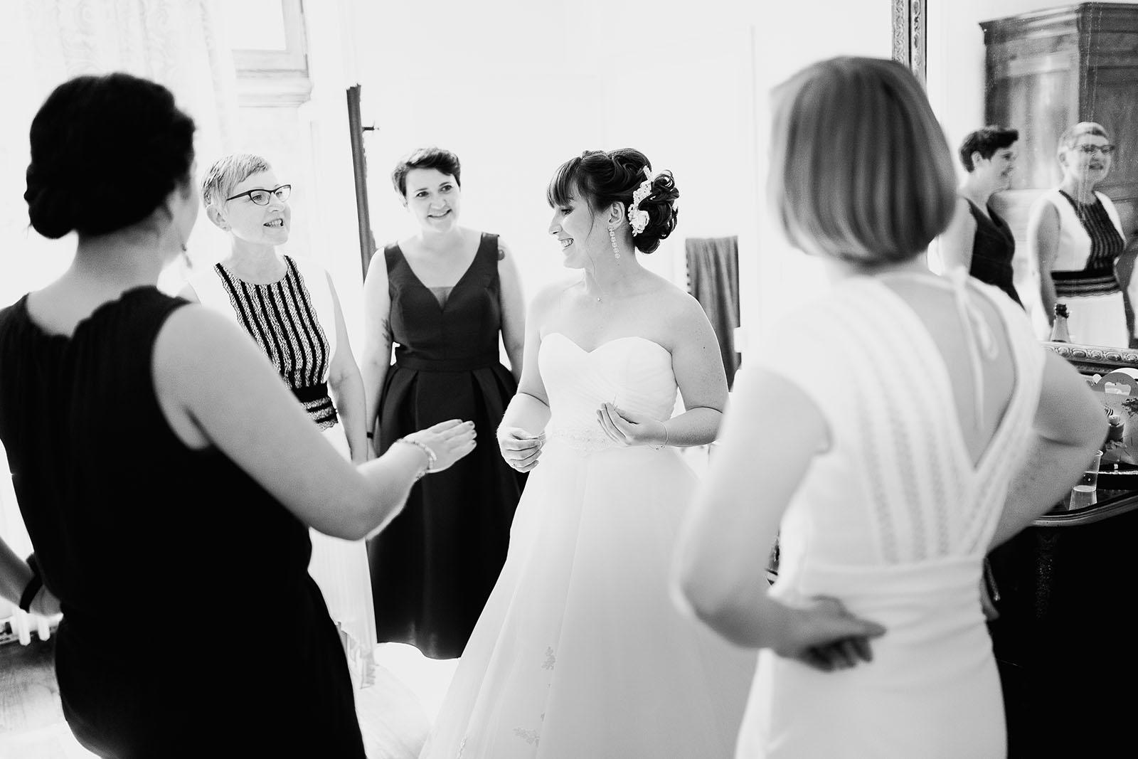 Photographe de mariage château le sallay nevers