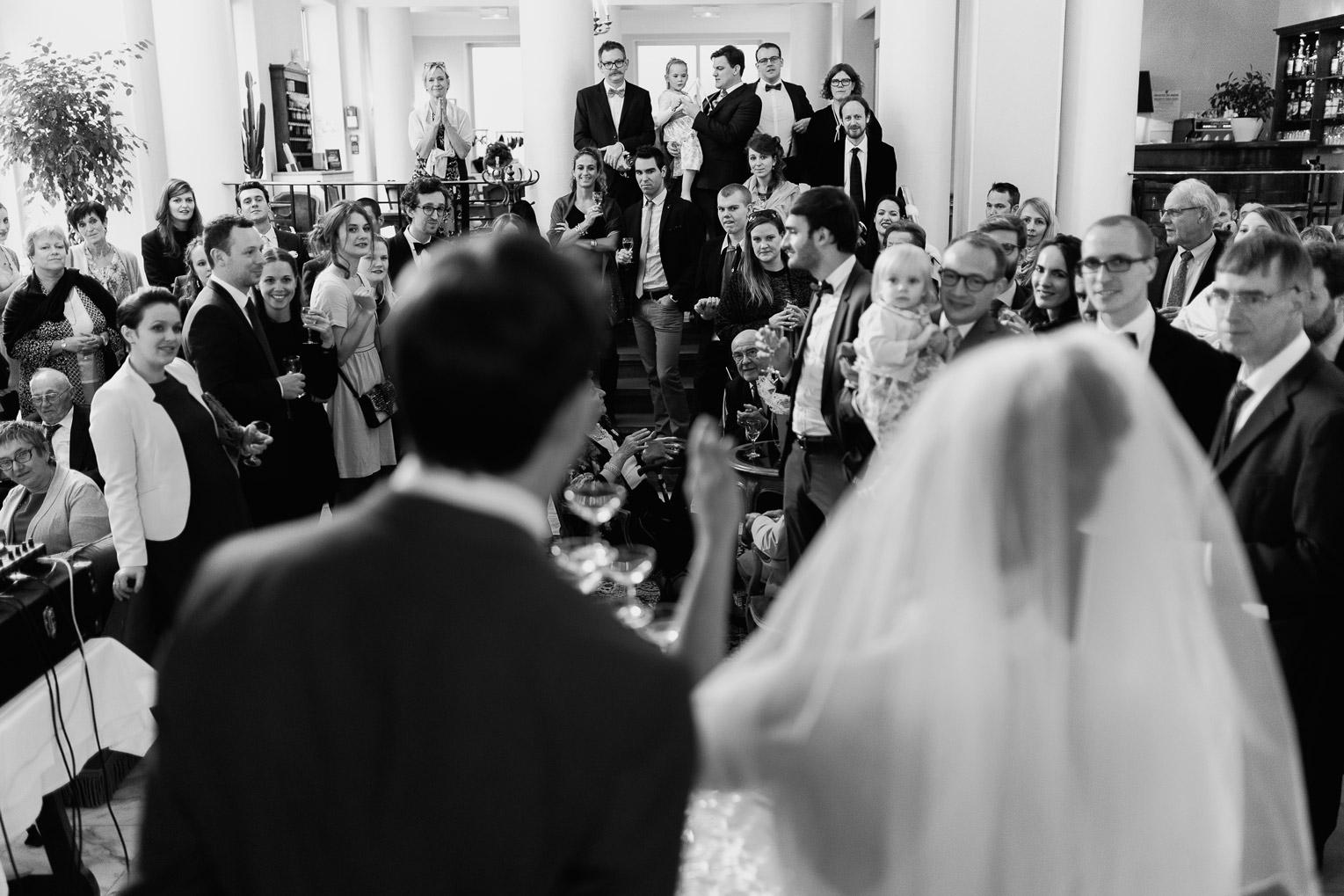 Hotel Royal Saint Mart Royat Clermont Ferrand Discours des mariés aux invités