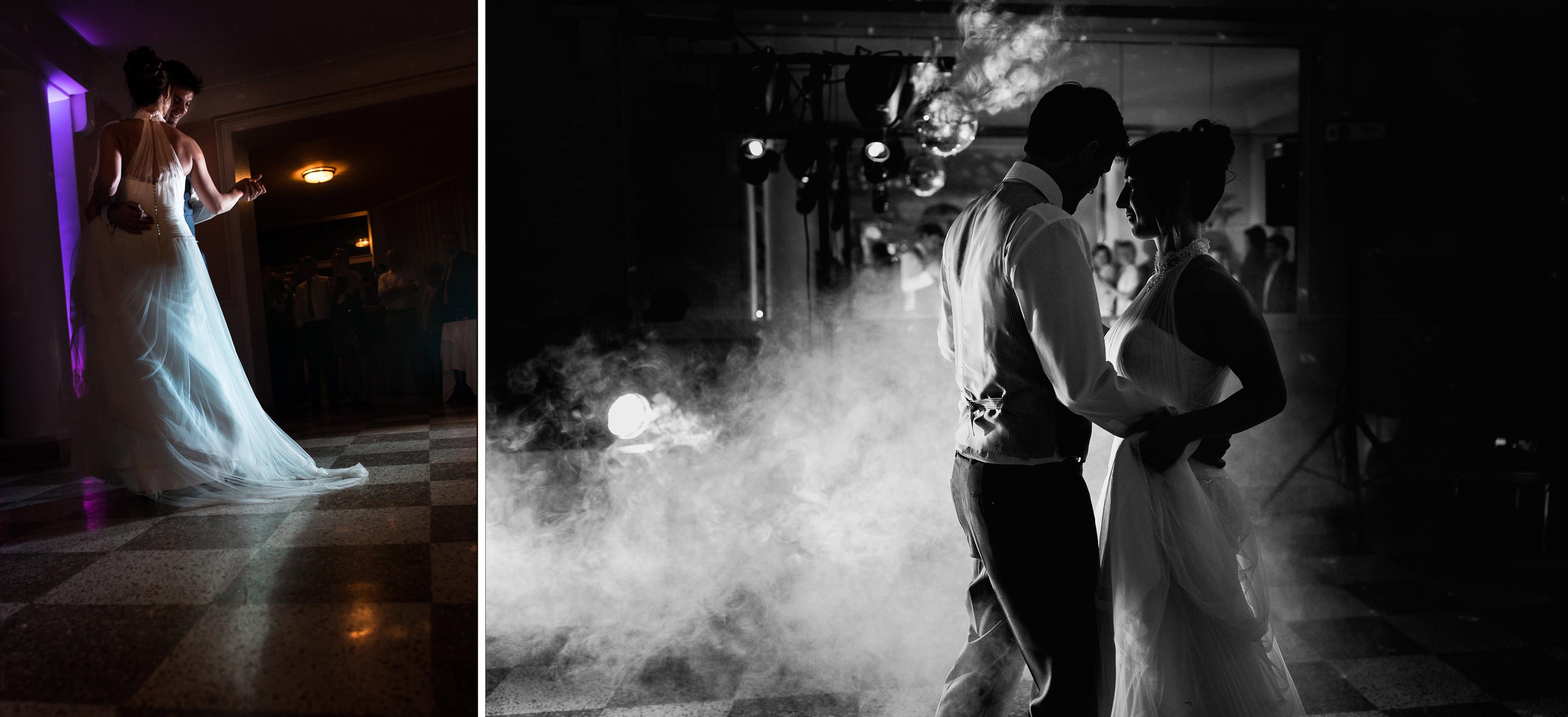 Hotel Royal Saint Mart Royat Clermont Ferrand Première danse des mariés à leur mariage