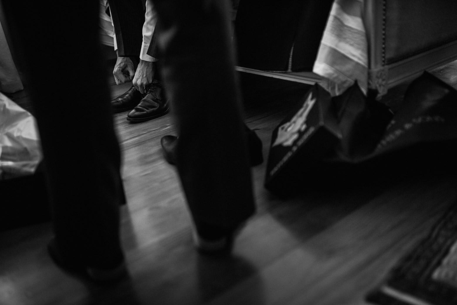 Reportage de mariage en automne au Manoir de la Garde