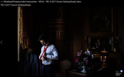 Récompense de photo de mariage Château de Saint Trys Lyon. Photo de David POMMIER Photographe à Lyon