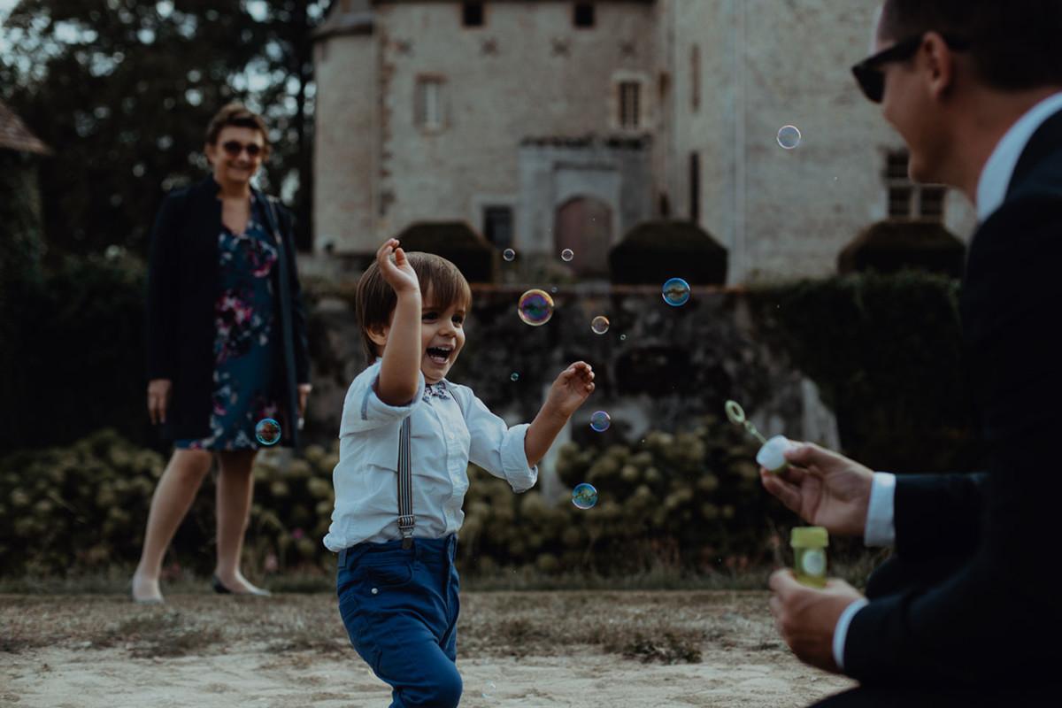 Meilleures photographies de mariage du photographe de mariage David Pommier. Château de BEAUVOIR Saint Pourcain sur besbre