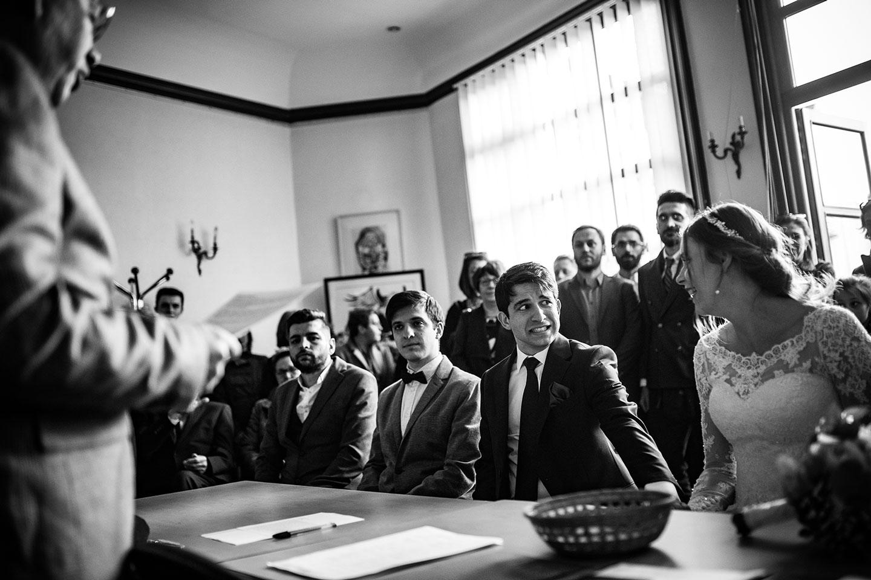 Reportage de mariage au Royal Hôtel Saint Mart