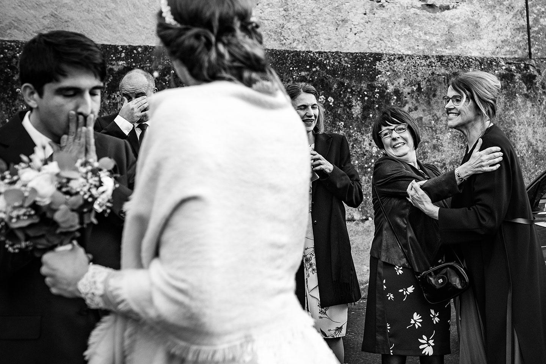 Reportage de mariage au Royal Hôtel Saint Mart. Photographie de mariage et émotion. Explication
