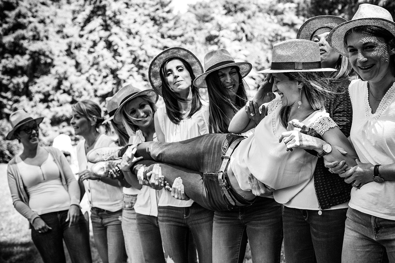 Enterrement de vie de jeunes filles à Lyon