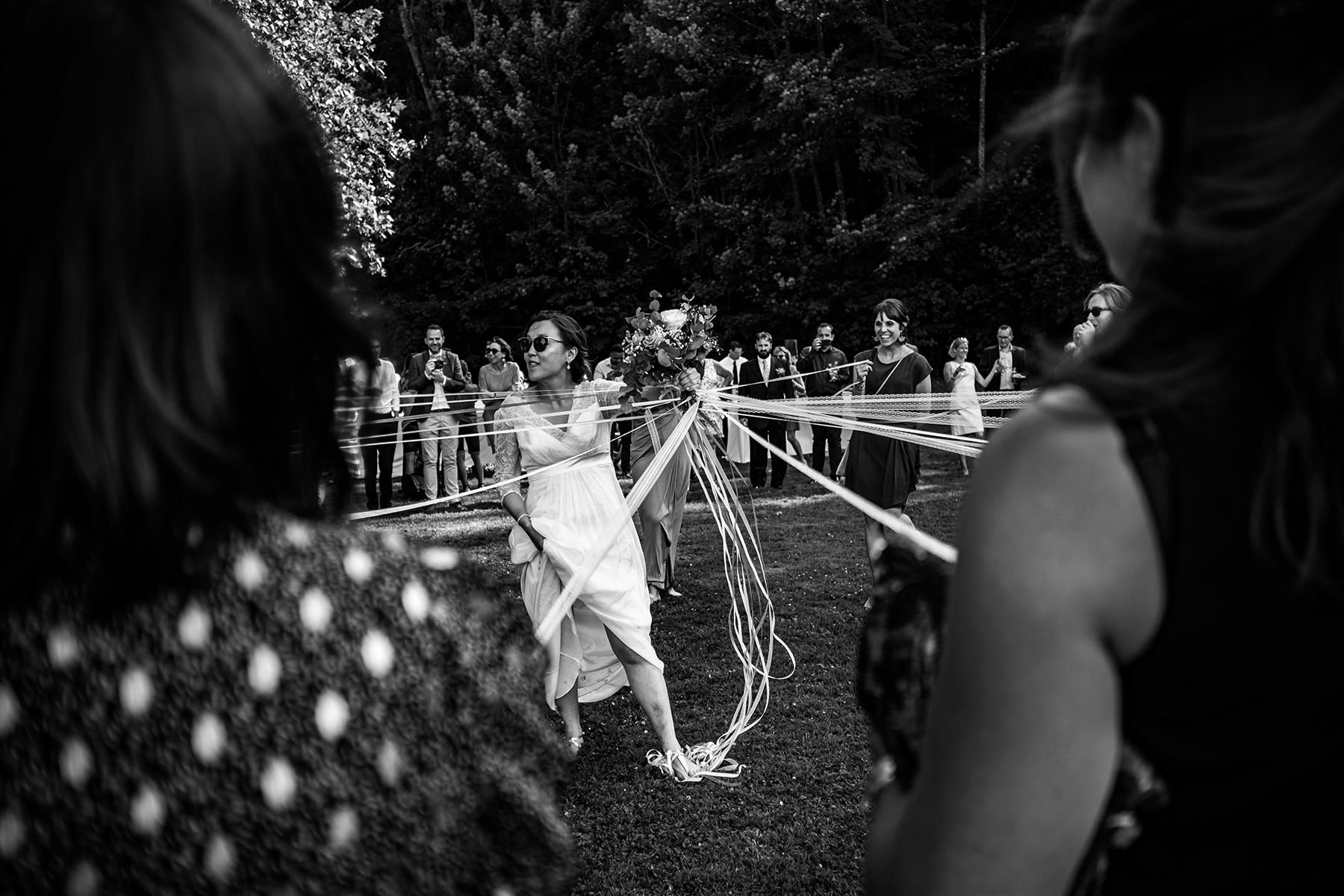 Reportage de mariage à l'Abbaye du Valasse