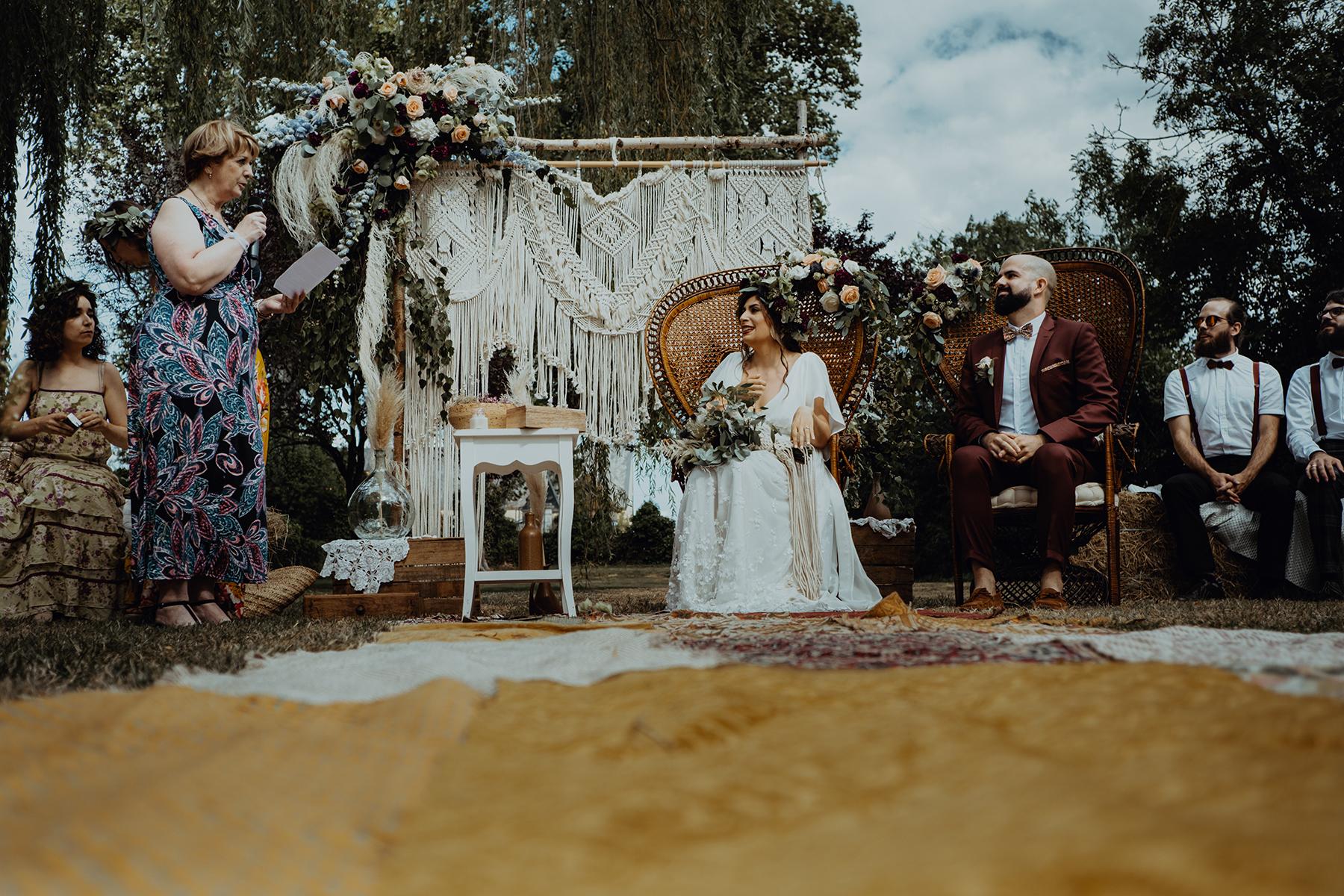Reportage de mariage au château de Planchevienne