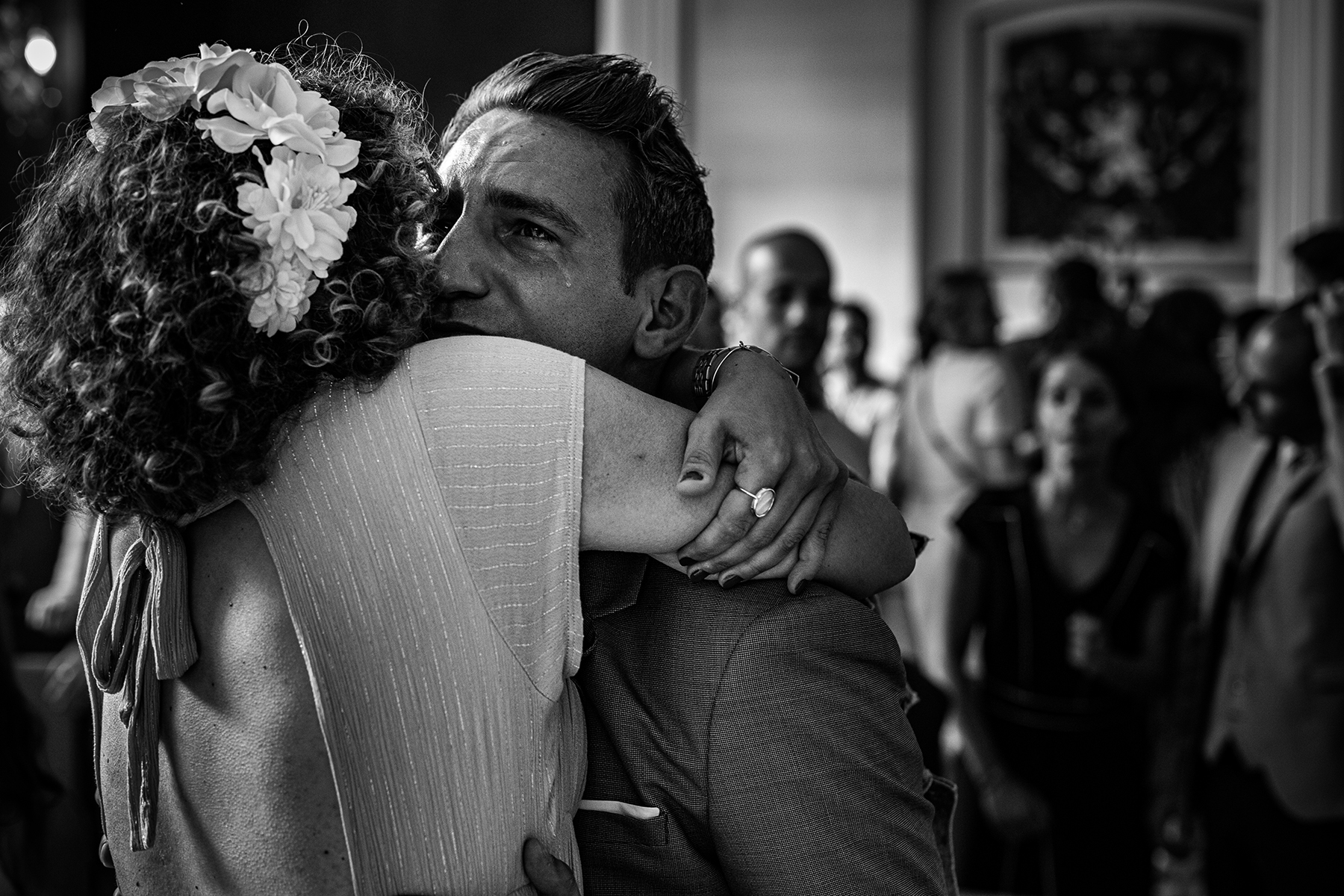 Reportage de mariage à Lyon - couple gay