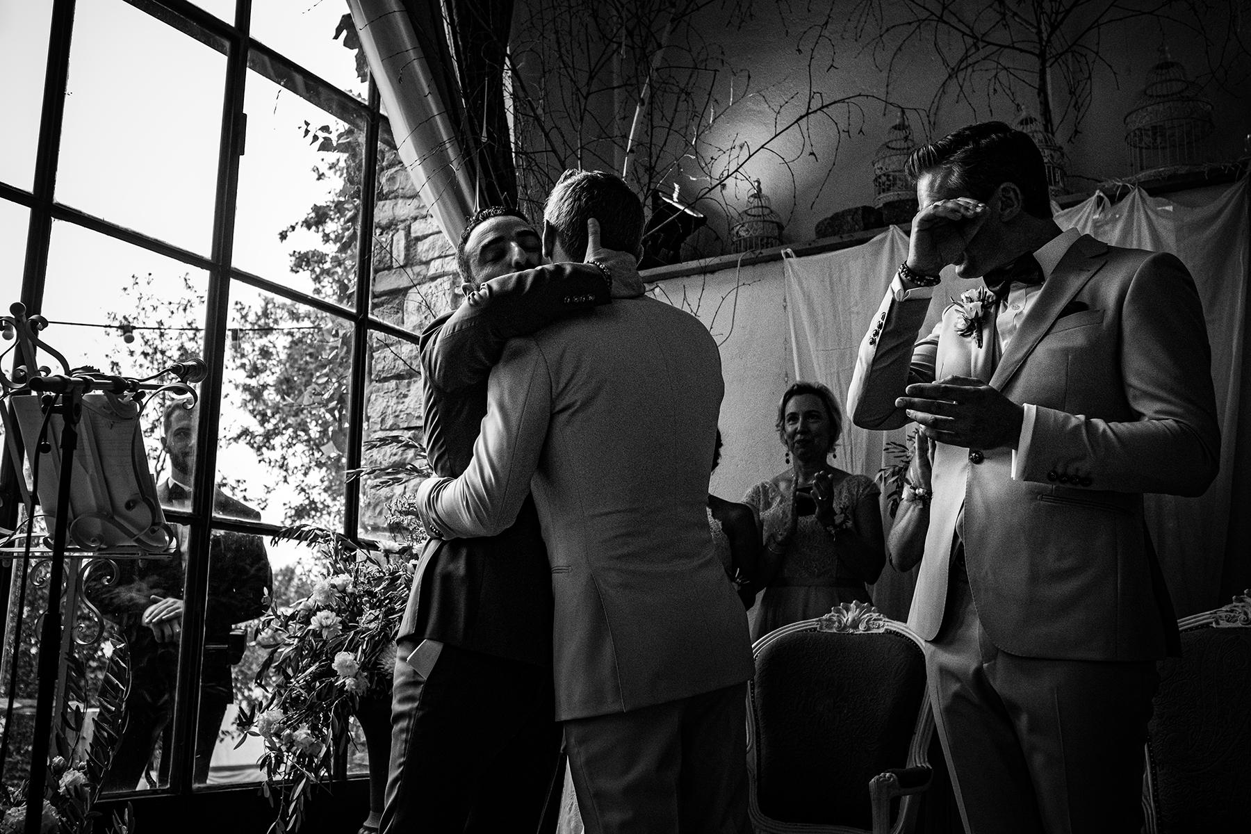 Reportage de mariage au Comptoir Saint Hilaire - Alès