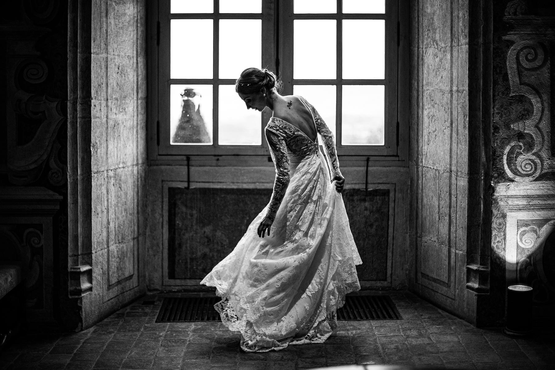 Reportage de mariage au Château de Bagnols. Quel photographe de mariage je suis ?