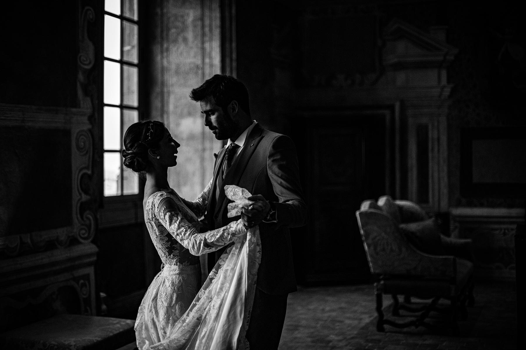Reportage de mariage au Château de Bagnols. Meilleures photographies de mariage du photographe de mariage David Pommier. Moulins allier. Photographe de mariage Lyon